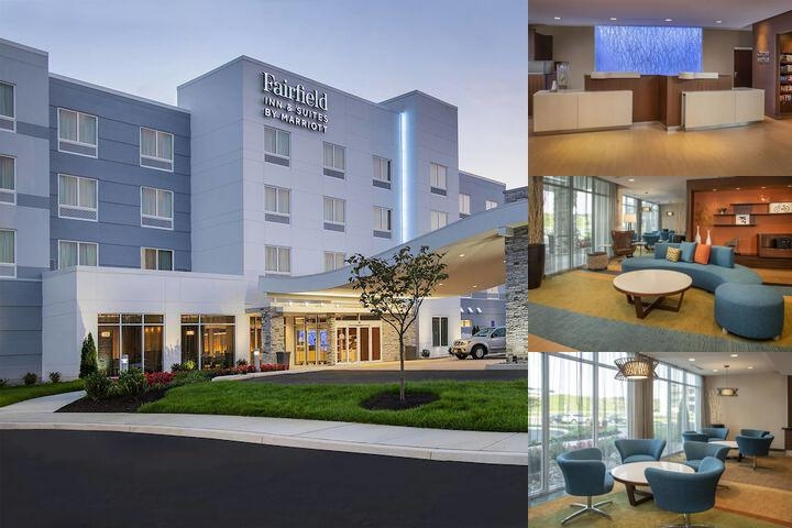 Fairfield Inn & Suites Harrisburg International Airport photo collage