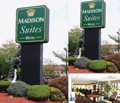 Madison Suites Hotel photo collage
