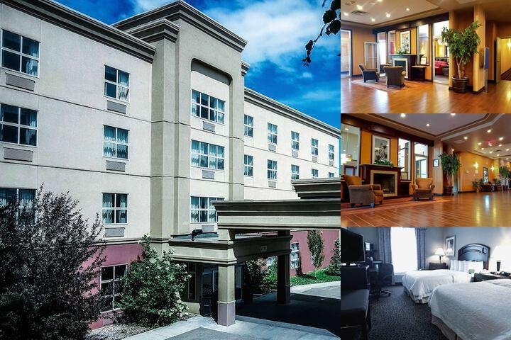 Hampton Inn Edmonton Interantional Airport photo collage