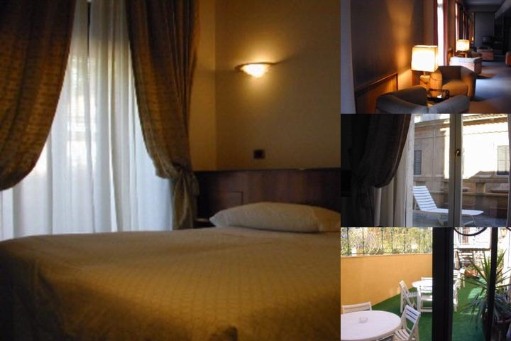 Hotel Sistina photo collage