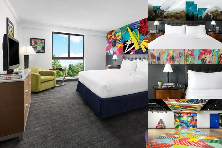 Studio Allston Hotel photo collage