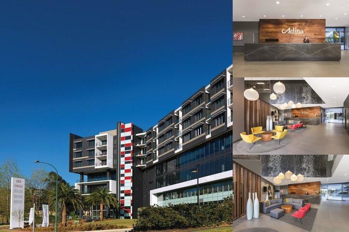 Adina Apartment Hotel Norwest Sydney photo collage