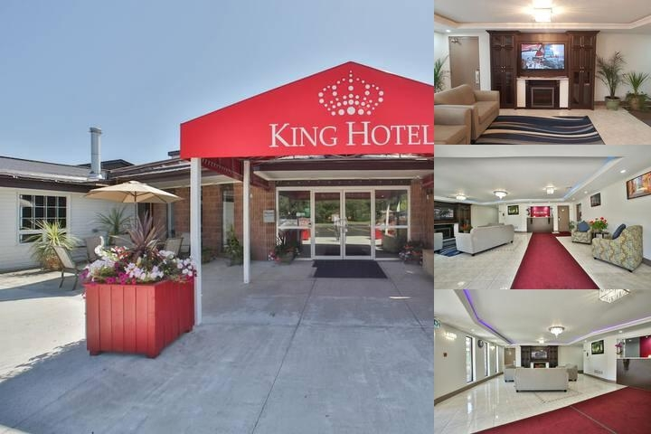 The King Hotel photo collage
