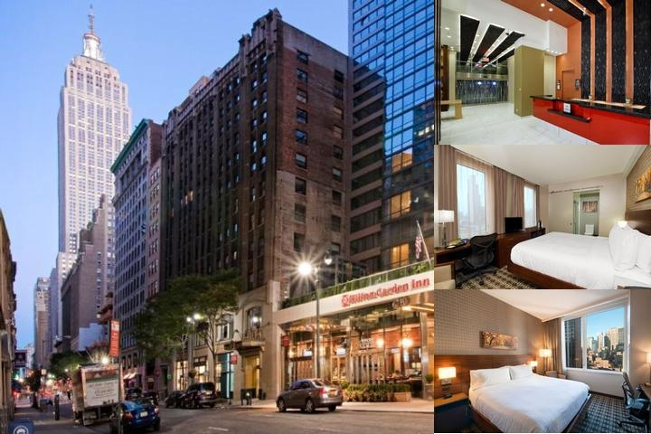 Hilton Garden Inn New York / Midtown Park Ave photo collage