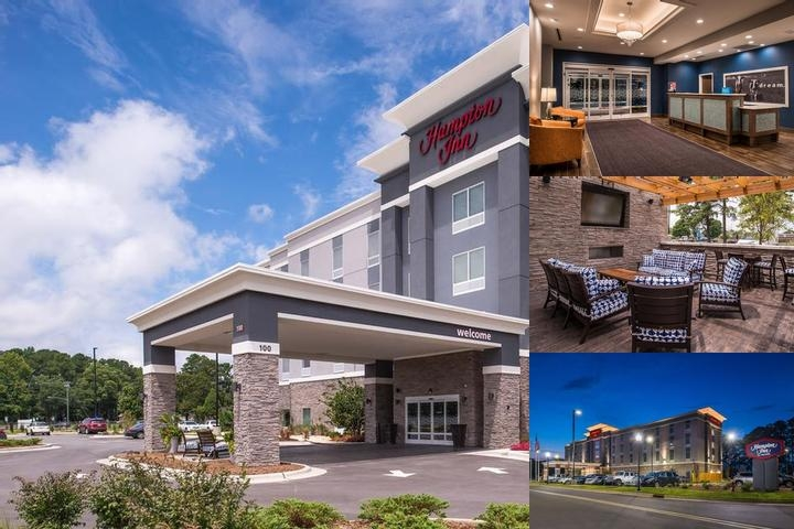 Hampton Inn Benson photo collage