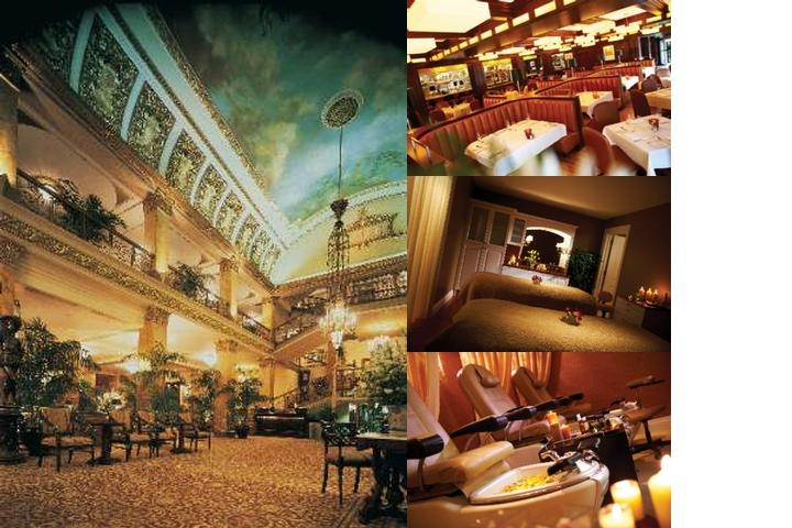 The Pfister Hotel photo collage