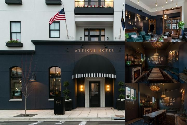 Atticus Hotel photo collage