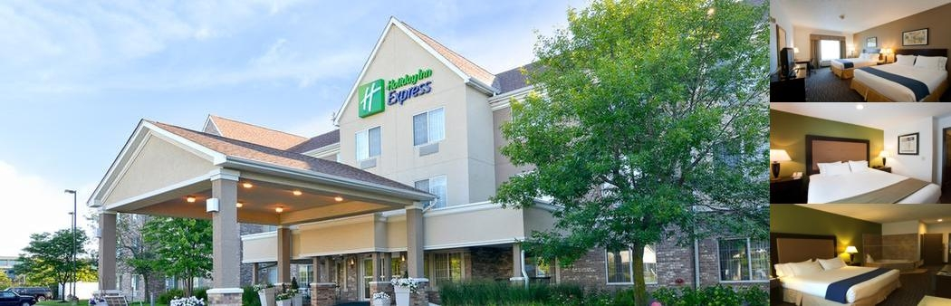 Holiday Inn Express & Suites Riverwood / Deerfield photo collage