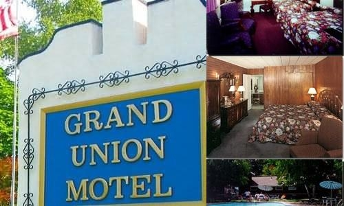 Grand Union Motel photo collage