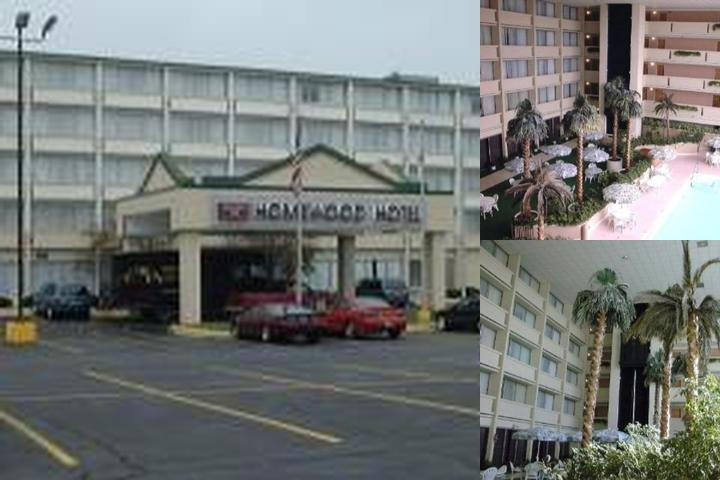Homewood Hotel photo collage