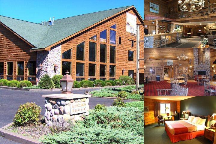 The Lodge at Crooked Lake photo collage