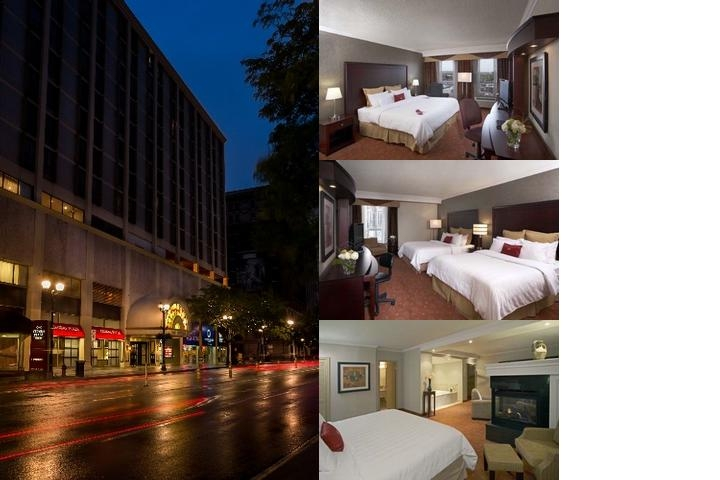 Crowne Plaza Hamilton photo collage