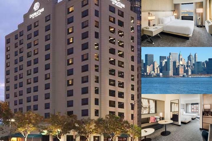 Doubletree Hotel Jersey City photo collage