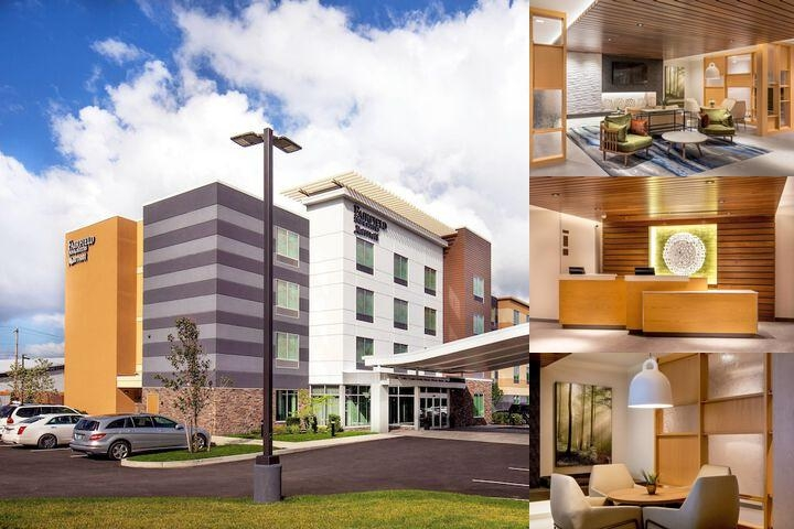 Fairfield Inn & Suites by Marriott Boston Walpole photo collage