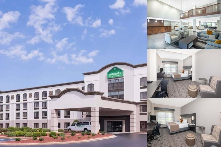 Wingate by Wyndham Greenville Airport photo collage