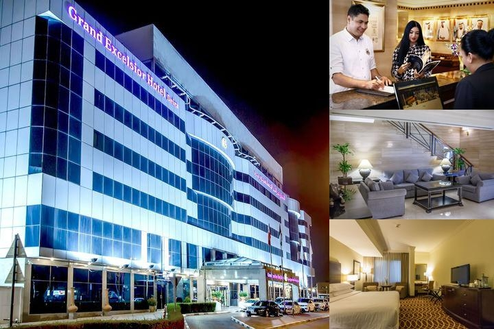Grand Excelsior Hotel (Previously Sheraton Deira) photo collage