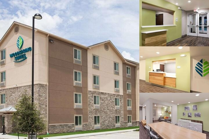 Woodspring Suites Houston 288 South Med Center photo collage
