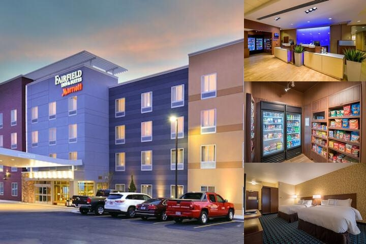 Fairfield Inn & Suites by Marriott Provo Orem photo collage
