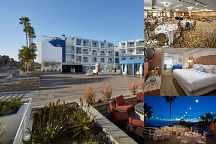 Doubletree Suites Doheny Beach Dana Point photo collage