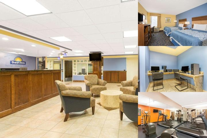 Days Inn by Wyndham Raleigh Airport Research Triangle Park photo collage
