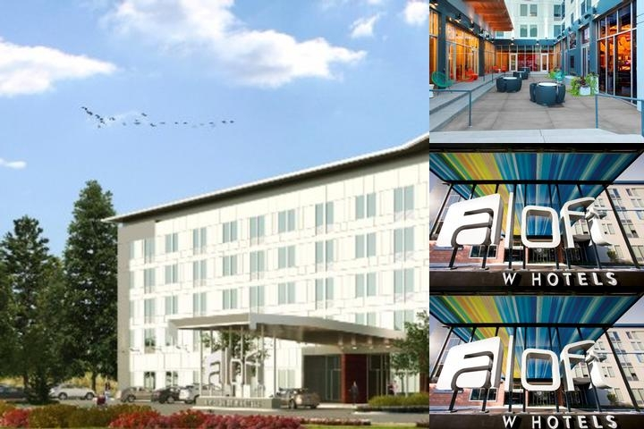 Aloft Raleigh Durham Airport Brier Creek photo collage