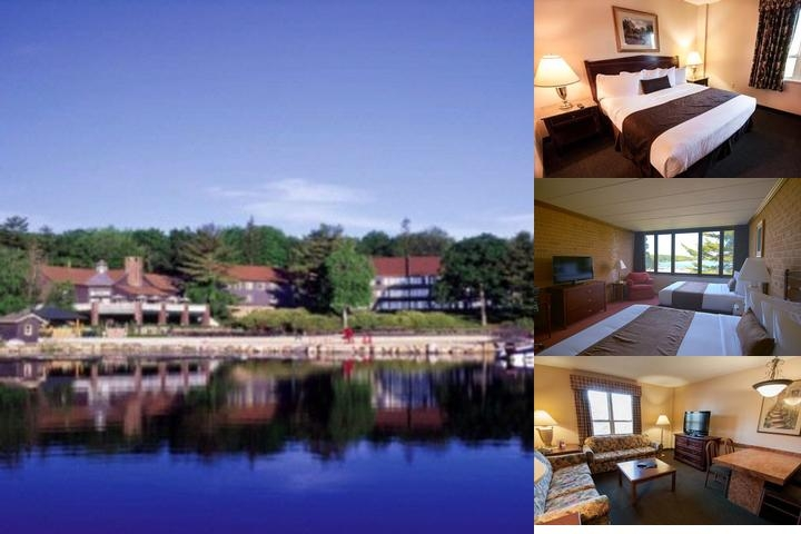 Split Rock Resort photo collage