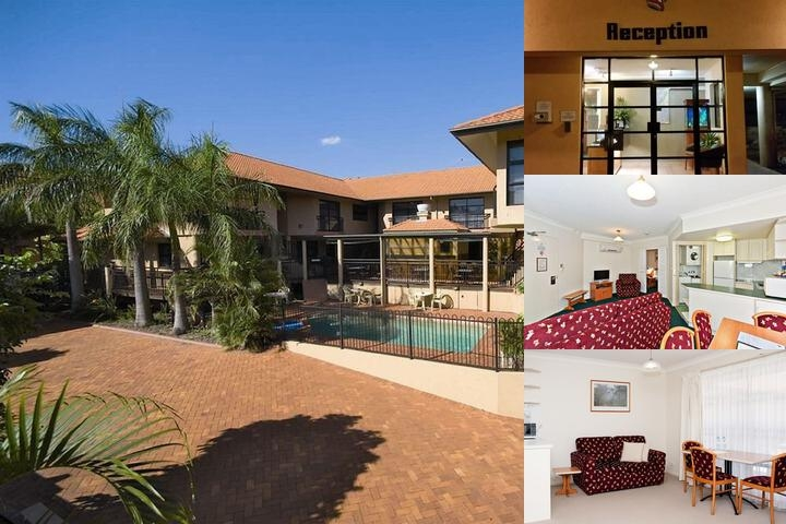 Pegasus Motor Inn & Serviced Apartments photo collage