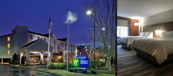 Holiday Inn Express Chapel Hill Durham photo collage