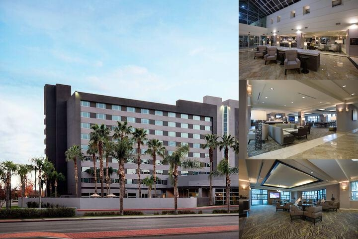 The Bakersfield Marriott photo collage
