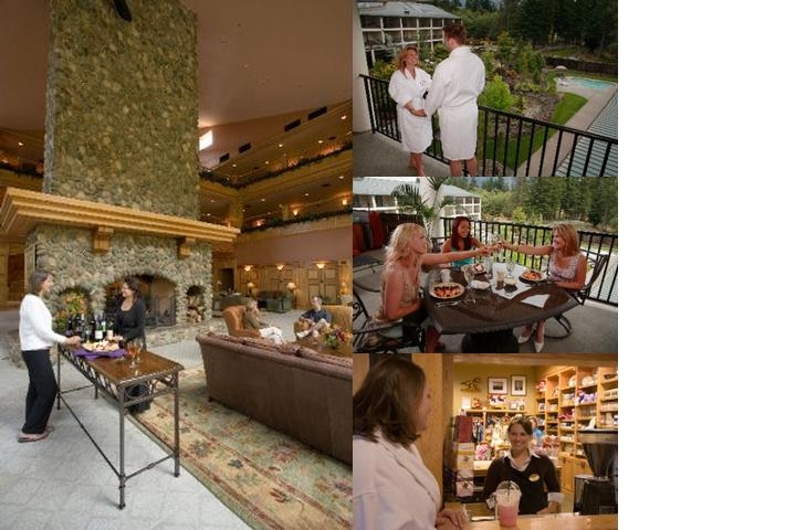 Bonneville Hot Springs Resort & Spa photo collage