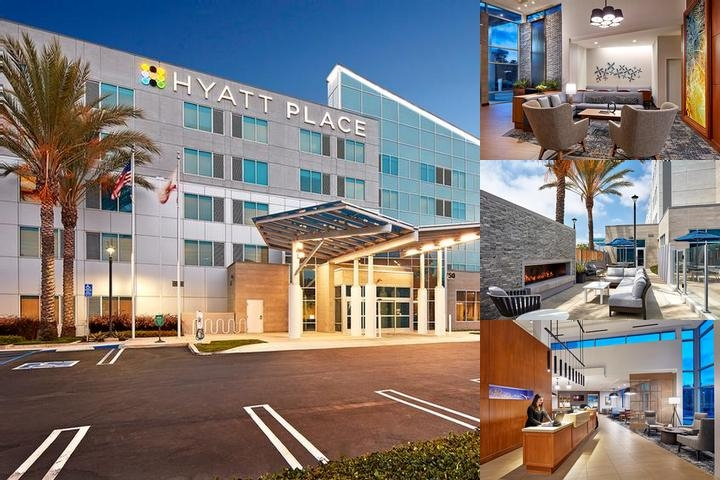 Hyatt Place Hotel photo collage
