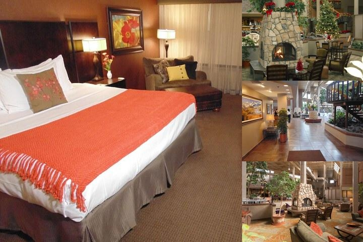 The Academy Hotel Colorado Springs photo collage