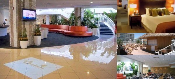 El Tropicano Riverwalk Hotel photo collage