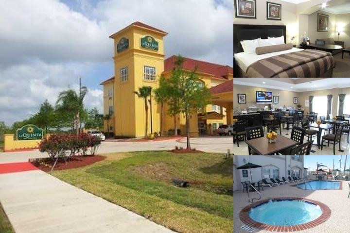 La Quinta Pearland photo collage