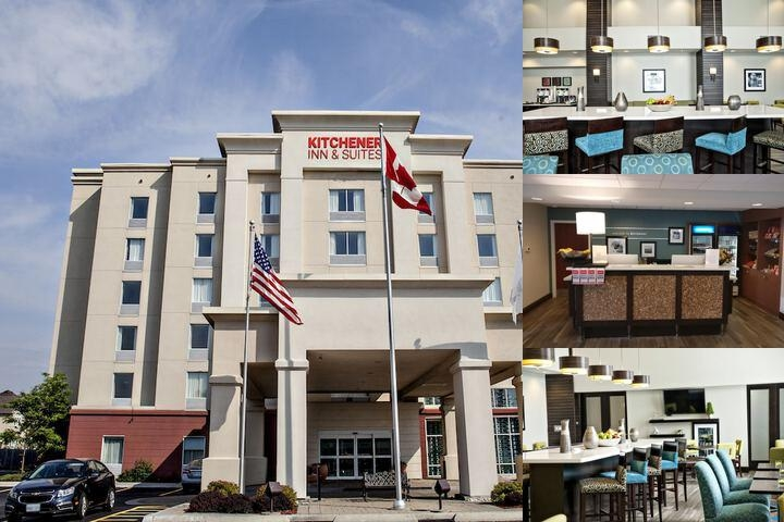 Hampton Inn & Suites by Hilton Kitchener photo collage
