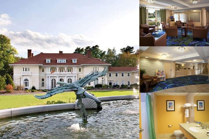 Wylie Inn & Conference Center & Tupper Manor photo collage