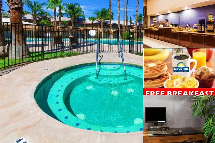 Days Inn Bakersfield photo collage