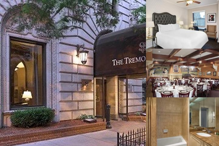 The Tremont Hotel on the Magnificent Mile photo collage