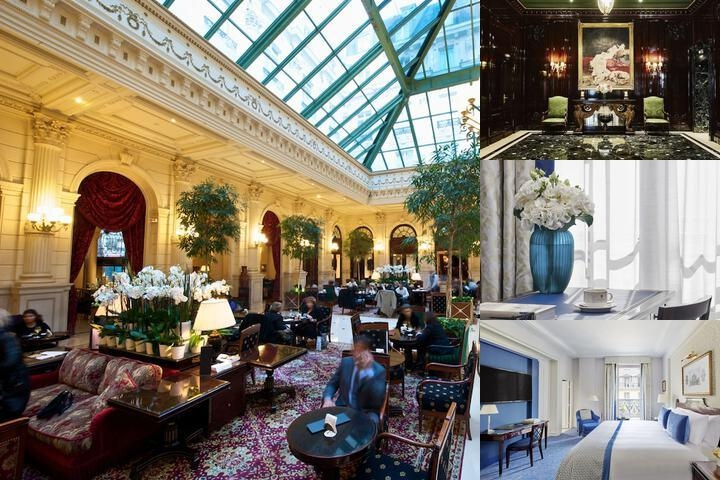 Intercontinental Paris Le Grand photo collage