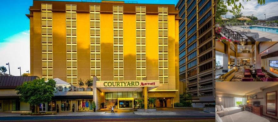 Courtyard by Marriott Bethesda Chevy Chase photo collage