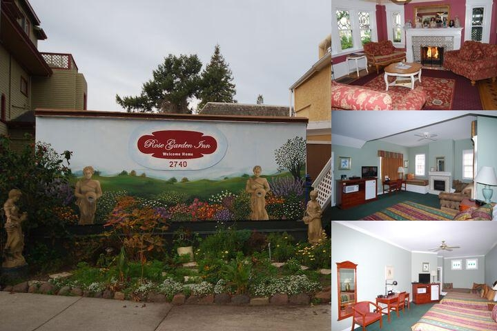 Rose Garden Inn photo collage