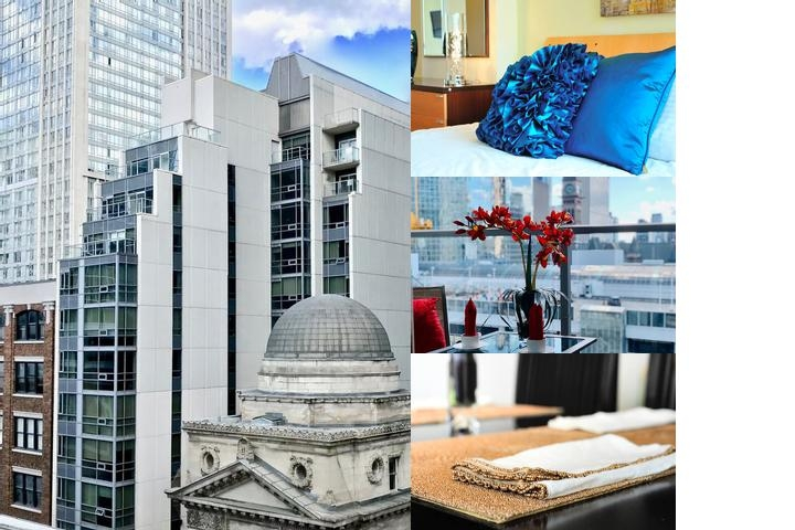 Yonge Suites Furnished Apartments photo collage