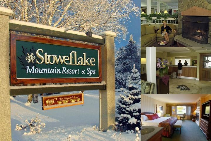 Stoweflake Mountain Resort & Spa photo collage