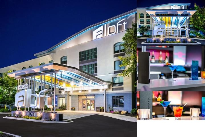 Aloft Columbia Harbison photo collage