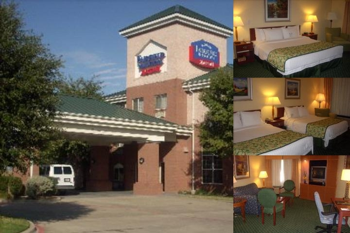 Grapevine Fairfield Inn & Suites photo collage