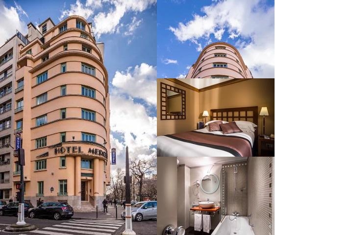Best Western Plus Hotel Mercedes Arc De Triomphe photo collage