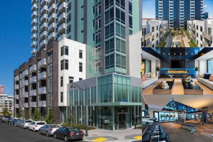 Global Luxury Suites in Mission Bay photo collage