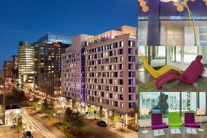 Yotel Boston photo collage