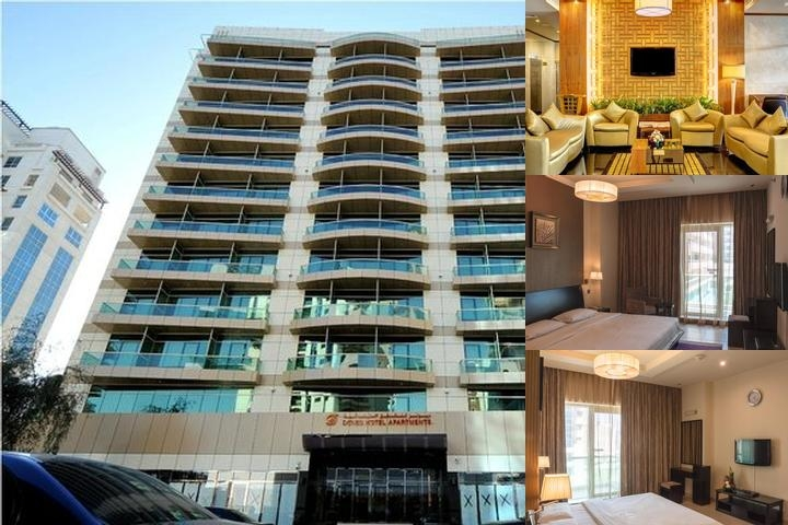 Dunes Hotel Apartments Oud Metha photo collage