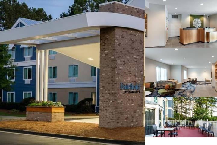 Savannah Fairfield Inn photo collage